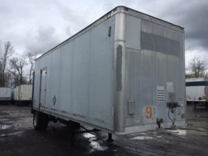 2000 WABASH 28' SINGLE AXLE DRY VAN W/LIFT GATE 4031942933-150x150