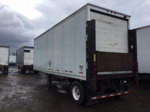 2000 WABASH 28' SINGLE AXLE DRY VAN W/LIFT GATE 4031942987-150x150