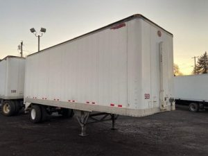 2002 GREAT DANE 28' ROLL DOOR DRY VAN 5192526935