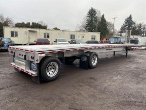 2020 MAC TRAILER MFG (QTY 5 ) 48 X 102 ALL ALUMINUM FLATBEDS 5215420701