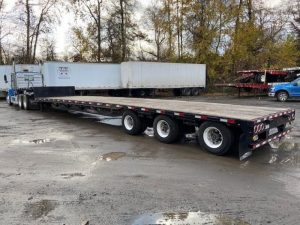 2015 PITTS 53' TRI AXLE DROP DECK 5219077237