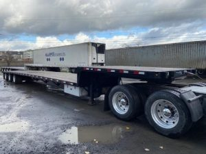 2015 PITTS 53' TRI AXLE DROP DECK 5219077249