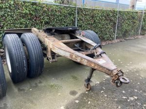 "1988 TRAILMOBILE 96"" WIDE DOLLY 5242381733"