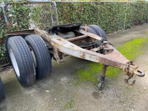 "1988 TRAILMOBILE 96"" WIDE DOLLY 5242384871"