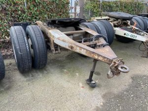 "1988 TRAILMOBILE 96"" WIDE DOLLY 5242386467"