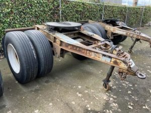"1984 FRUEHAUF 96"" WIDE DOLLY 5242390057"