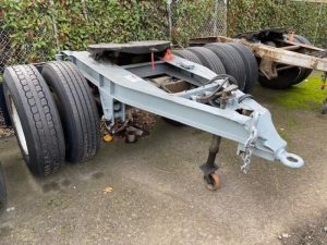 "1984 FRUEHAUF 96"" WIDE DOLLY 5242395637"
