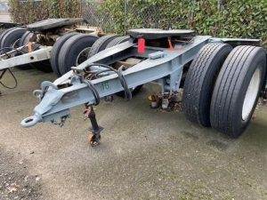 "1984 FRUEHAUF 96"" WIDE DOLLY 5242395639"