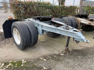 "1984 FRUEHAUF 96"" WIDE DOLLY 5242396453"