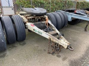 "1983 SILVER EAGLE 96"" WIDE DOLLY 5242398511"