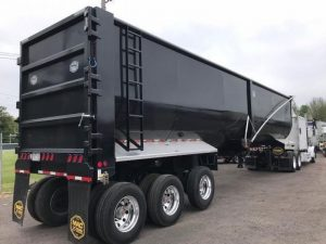 2021 MAC TRAILER MFG 45' TRI-AXLE END DUMP 6023019641