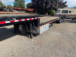 2013 MCLENDON 53' TRI-AXLE DROP DECK WITH DOVE TAIL 6099299047