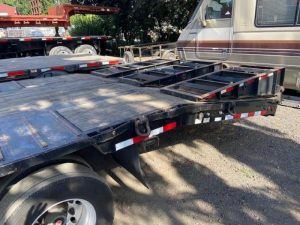 2013 MCLENDON 53' TRI-AXLE DROP DECK WITH DOVE TAIL 6099299689