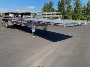 2021 MAC TRAILER MFG 48' ALL ALUMINUM 3 AXLE FLATBED 6115293035