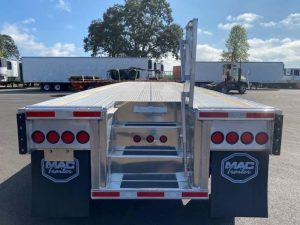 2021 MAC TRAILER MFG 48' ALL ALUMINUM 3 AXLE FLATBED 6115293043