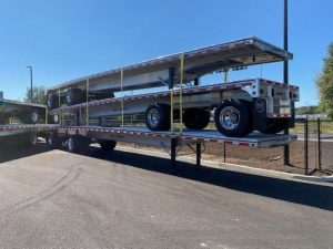 2021 MAC TRAILER MFG NEW ALL ALUMINUM 48' ROAD WARRIOR FLATBED 6116862087