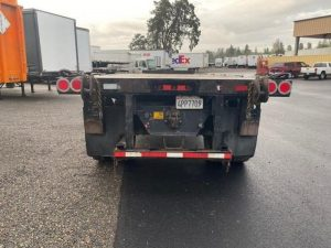 2009 UTILITY 26' OUTSIDE FRAME FLATBED WITH PRINCETON KIT(3 AVA 6152712417