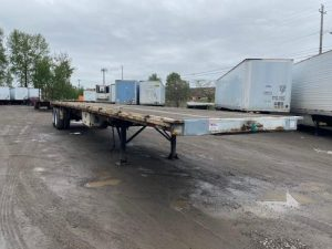 """1985 UTILITY 45' X 102"""" ALL STEEL FLATBED 6153422397"""
