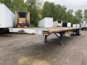 """1985 UTILITY 45' X 102"""" ALL STEEL FLATBED 6153422401"""