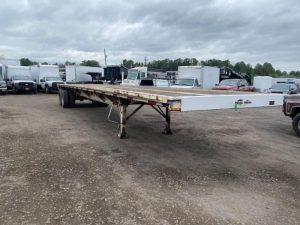 """1985 UTILITY 45' X 102"""" ALL STEEL FLATBED 6153432021"""