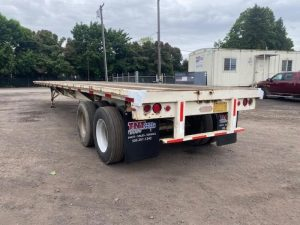 """1985 UTILITY 45' X 102"""" ALL STEEL FLATBED 6153432031"""