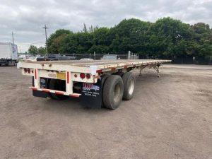 """1985 UTILITY 45' X 102"""" ALL STEEL FLATBED 6153432033"""