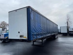2006 UTILITY 53' QUAD AXLE CURTAIN VAN 6178774871