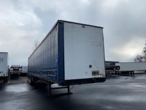 2006 UTILITY 53' QUAD AXLE CURTAIN VAN 6178774873
