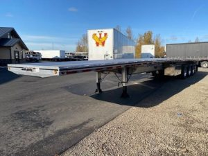 2021 MAC TRAILER MFG 53' ALUMINUM QUAD AXLE FLATBED 6180029659