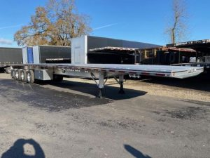 2021 MAC TRAILER MFG 53' ALUMINUM QUAD AXLE FLATBED 6180029671