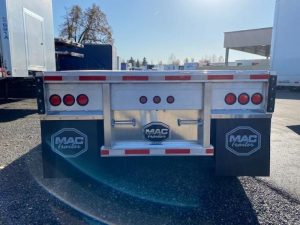 2021 MAC TRAILER MFG 53' ALUMINUM QUAD AXLE FLATBED 6180029719