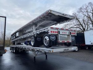 2021 MAC TRAILER MFG 53' ALL ALUMINUM QUAD AXLE FLATEBED(5 AVAILABLE) 6185748773