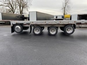 2021 MAC TRAILER MFG 53' ALL ALUMINUM QUAD AXLE FLATEBED(5 AVAILABLE) 6199062527
