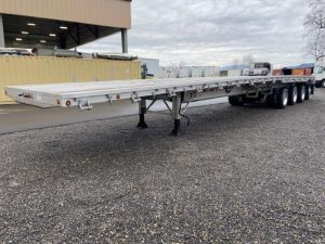 2021 MAC TRAILER MFG 53' ALL ALUMINUM QUAD AXLE FLATEBED(5 AVAILABLE) 6213999565