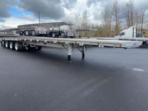 2021 MAC TRAILER MFG 53' ALL ALUMINUM QUAD AXLE FLATEBED 6270023425