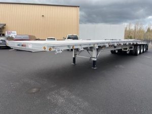 2021 MAC TRAILER MFG 53' ALL ALUMINUM QUAD AXLE FLATEBED 6270023427