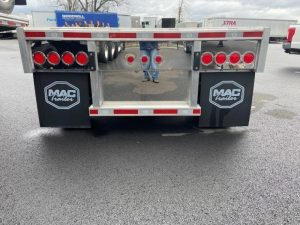 2021 MAC TRAILER MFG 53' ALL ALUMINUM QUAD AXLE FLATEBED 6270023429