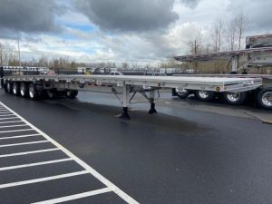 2021 MAC TRAILER MFG 53' ALL ALUMINUM QUAD AXLE FLATEBED 6270030231