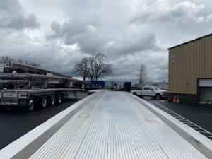 2021 MAC TRAILER MFG 53' ALL ALUMINUM QUAD AXLE FLATEBED 6270030239