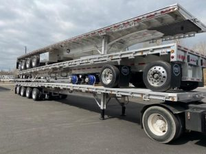 2021 MAC TRAILER MFG 53' ALL ALUMINUM QUAD AXLE FLATEBED 6271182793