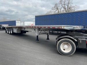 2021 MAC TRAILER MFG 53' QUAD AXLE ALUMINUM FLATBED 6271240679