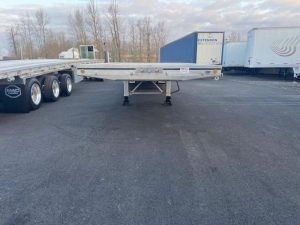 2021 MAC TRAILER MFG 53' ALL ALUMINUM QUAD AXLE FLATEBED 6273642307