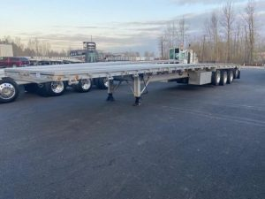 2021 MAC TRAILER MFG 53' ALL ALUMINUM QUAD AXLE FLATEBED 6273642311