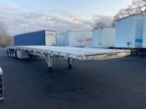 2021 MAC TRAILER MFG 53' ALL ALUMINUM QUAD AXLE FLATEBED 6273642319