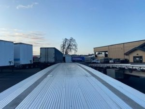 2021 MAC TRAILER MFG 53' ALL ALUMINUM QUAD AXLE FLATEBED 6273642331