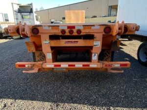 2012 GREAT DANE 36' FLATBED WITH UNIVERSAL FORKLIFT KIT 7012483001