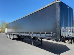 2010 UTILITY 53' QUAD AXLE CURTAIN VAN 7012838757