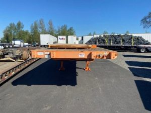 2012 GREAT DANE 36' FLATBED WITH UNIVERSAL FORKLIFT KIT 7017758419