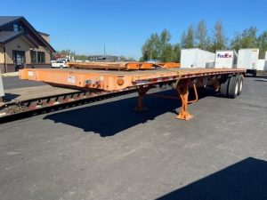 2012 GREAT DANE 36' FLATBED WITH UNIVERSAL FORKLIFT KIT 7017758421